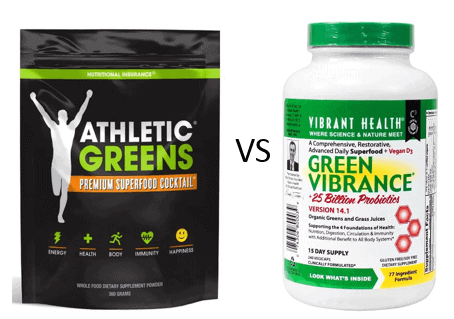 Athletic Greens vs Green Vibrance - Which is the Better ...