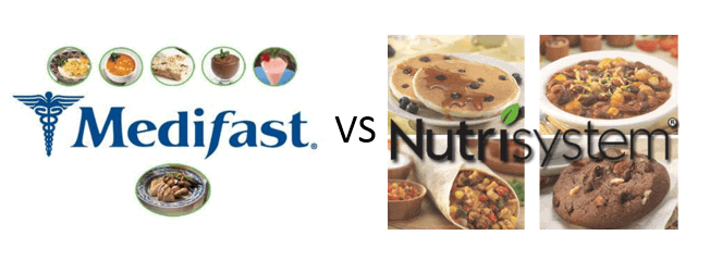 Medifast vs Nutrisystem – What's the Difference and Which is Best?
