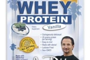 jay robb whey protein nutrition facts