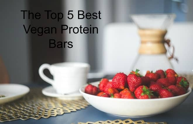best vegan protein bars 2019
