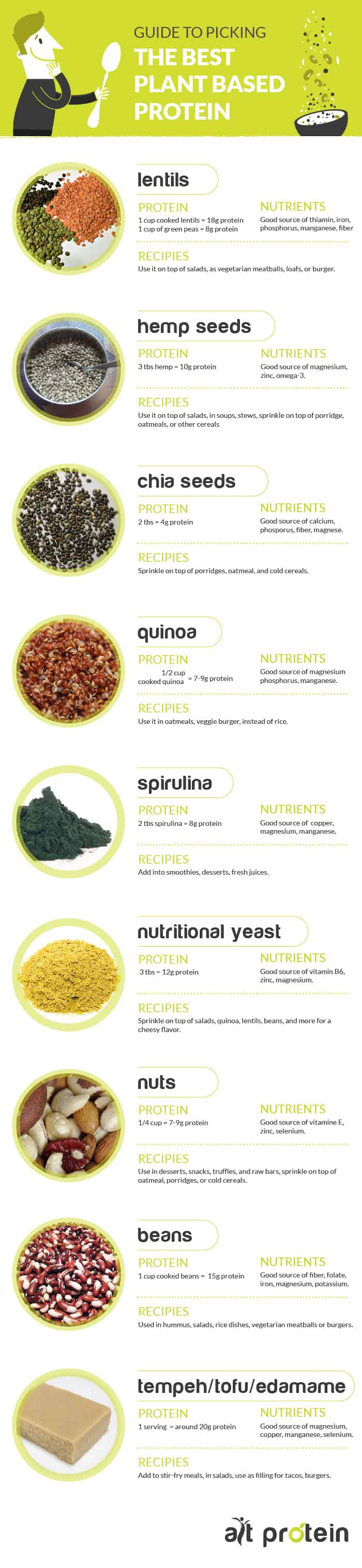 best vegan protein sources