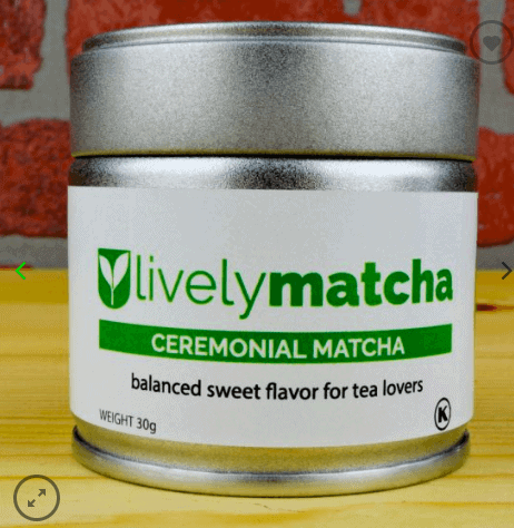 Lively Matcha Energetic Ceremonial Matcha Powder