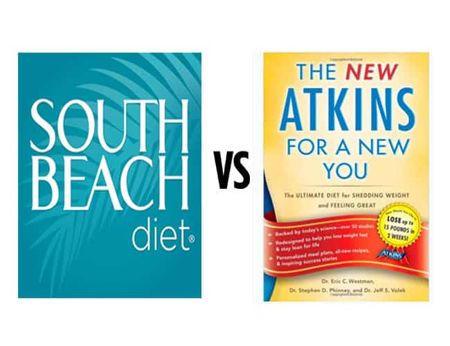 South Beach Diet vs Atkins: Which One is Better? [May 2019 Updates]