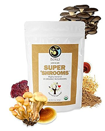 Boku Super Shrooms Review: Harness the Power of Mushroom Powders