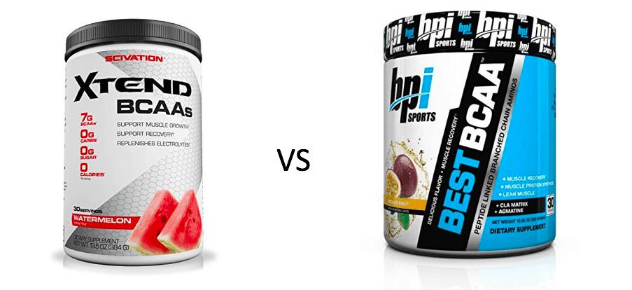 Scivation Xtend vs BPI BCAA Comparison: Which One Works Best?