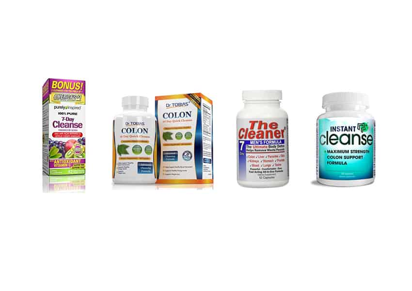 top 4 best 7 day cleanse supplements to get you moving