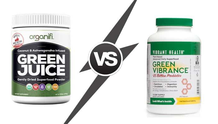 The Powerhouse Green Drinks Showdown: Organifi vs Green Vibrance