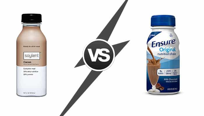 Soylent vs Ensure