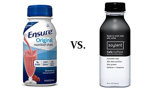 Soylent vs Ensure: Which One is Best?