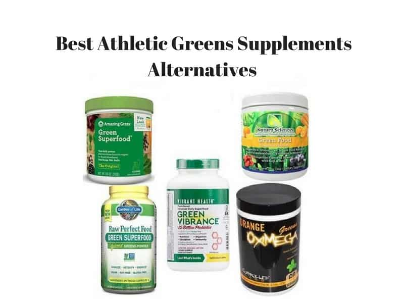 5 Best Athletic Greens Supplements Alternatives for 2019