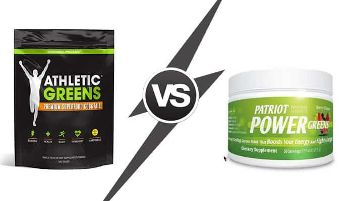 Athletic Greens vs Patriot Power Greens - Which One Is Better?