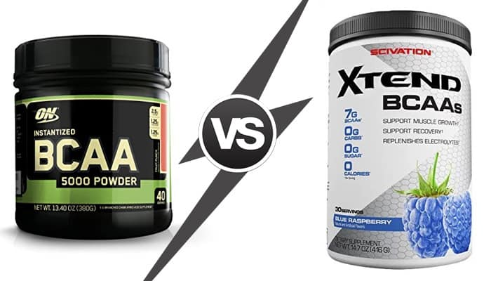 Scivation Xtend vs Optimum BCAA: Which One is Best?