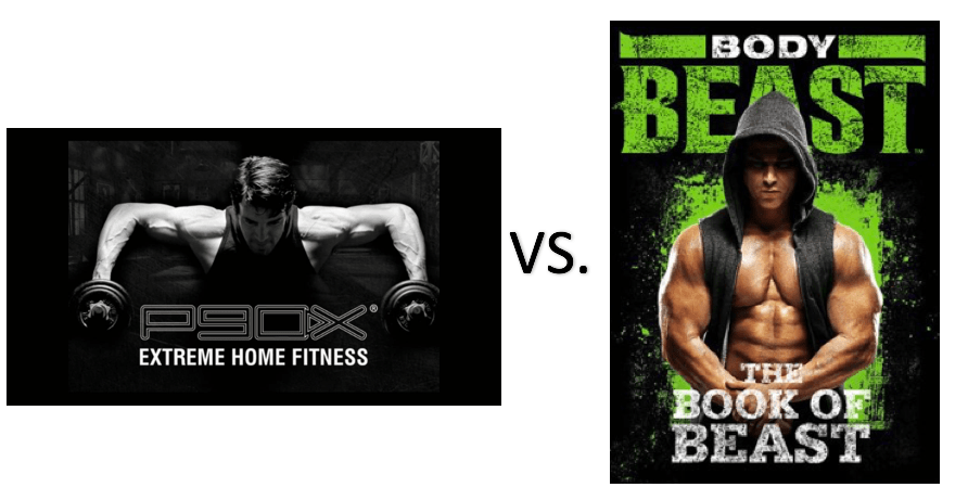 Body Beast vs P90x Compared: Which Workout System is Best? - Alt Protein