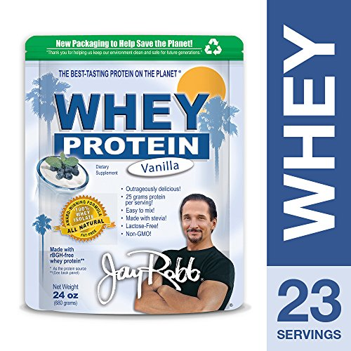 About Jay Robb Whey Isolate Protein