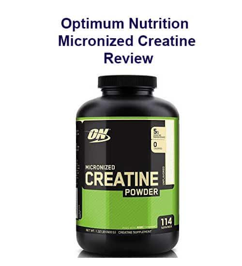 Optimum Nutrition Micronized Creatine Review