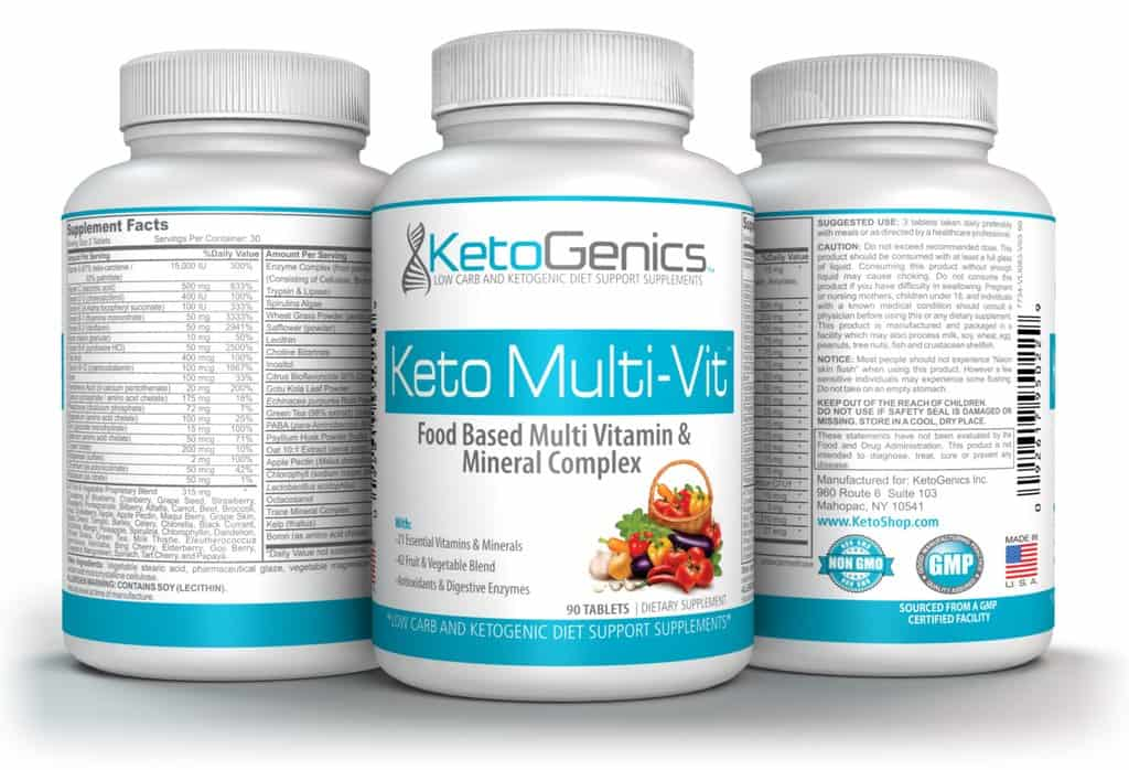 best vitamins to take on the ketogenic diet