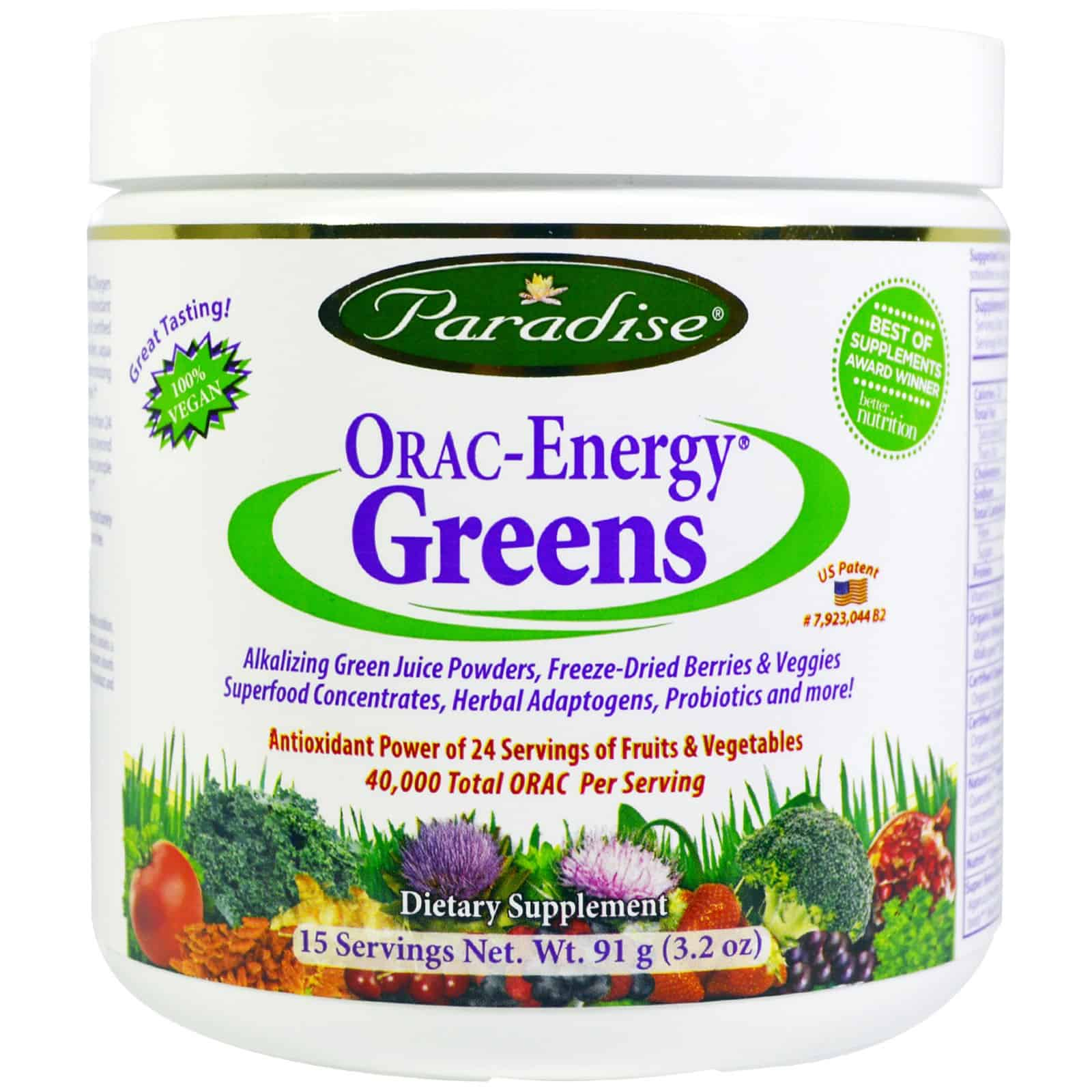 The Paradise ORAC Energy Greens Review You'll Really Love