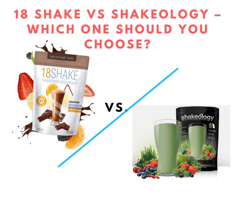 18 Shake vs Shakeology – Which One Should You Choose?