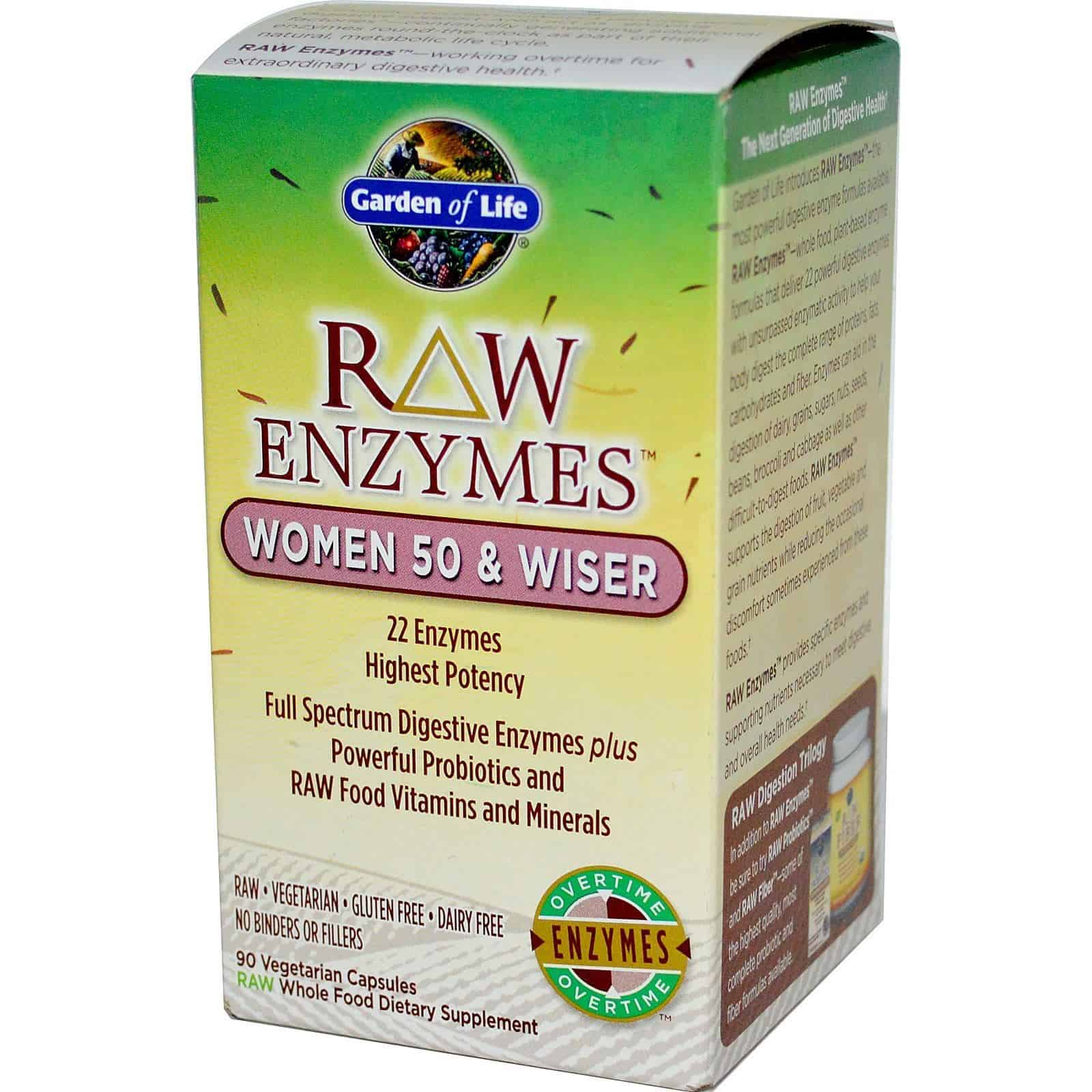 Digestive Issues? Garden of Life's RAW Enzymes Might Help