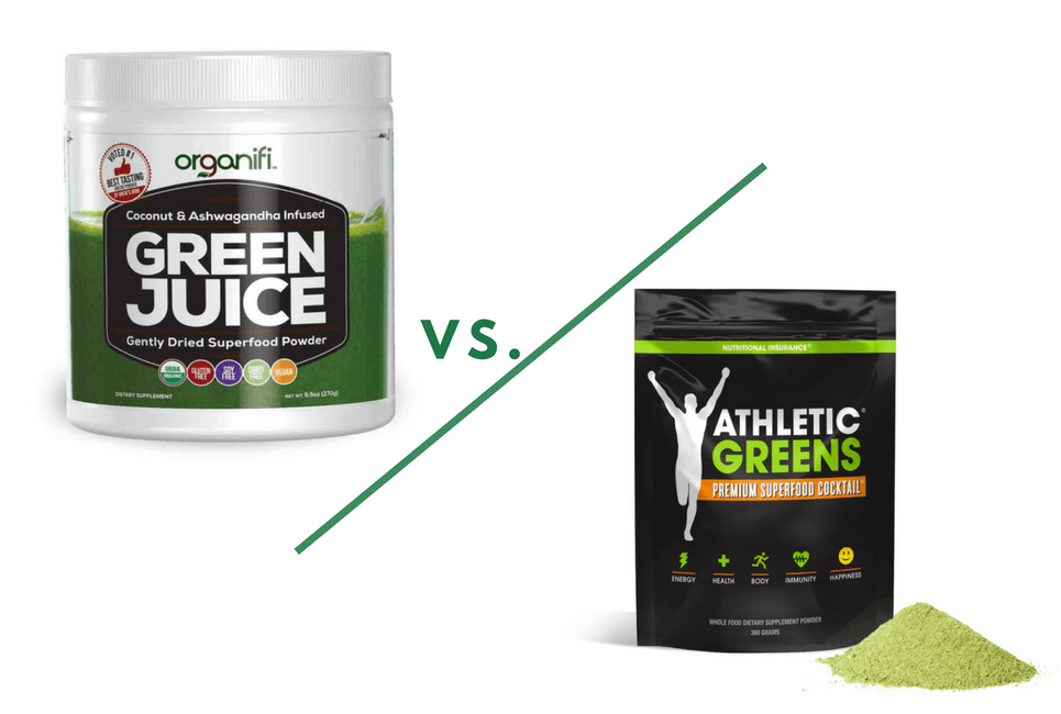 Athletic Greens vs Organifi: Which One Should You Choose?