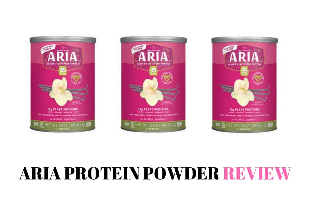 aria protein powder review