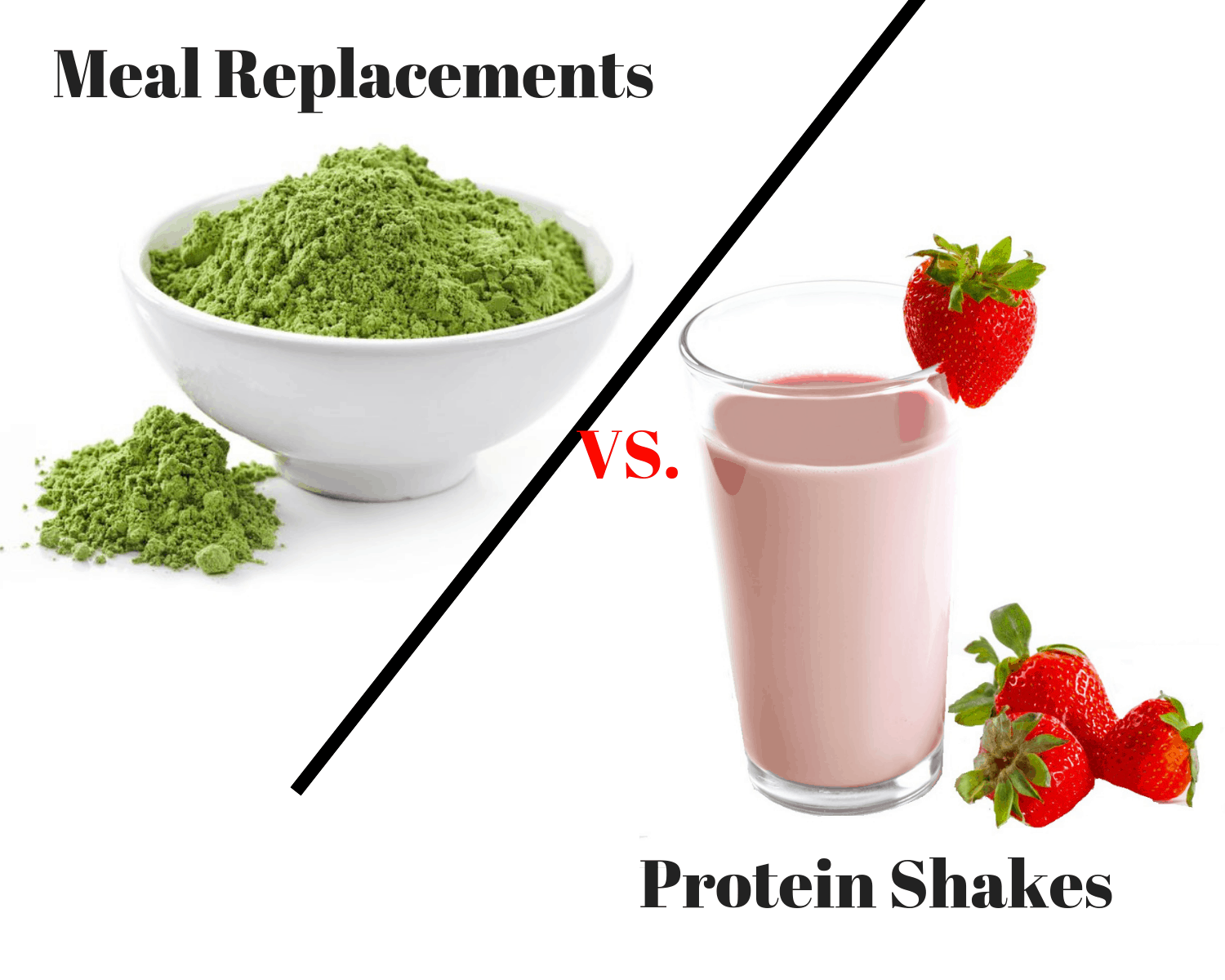 Meal Replacement vs Protein Shakes - What Is The Difference?