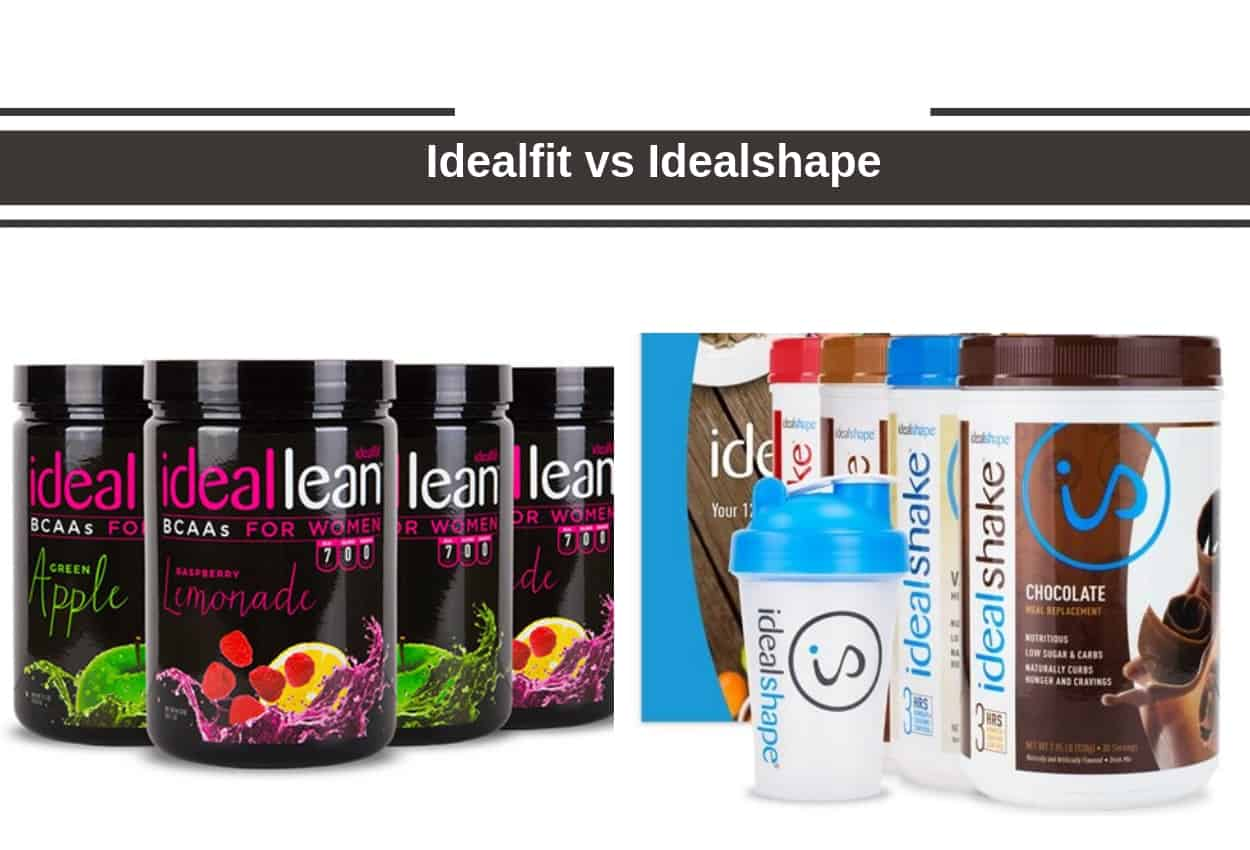 Idealfit vs Idealshape - Are These The Best Women Proteins?