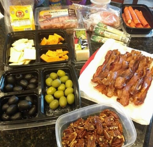 keto foods on the go