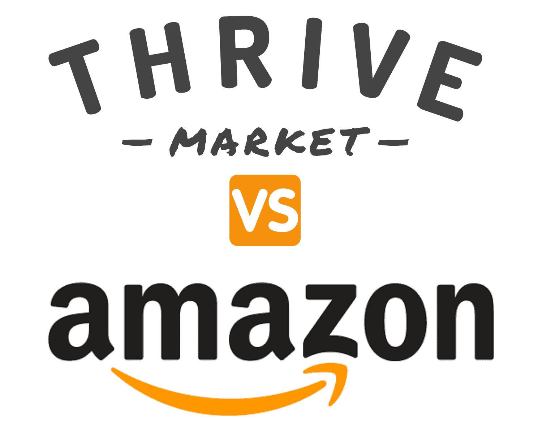 thrive market vs amazon compared