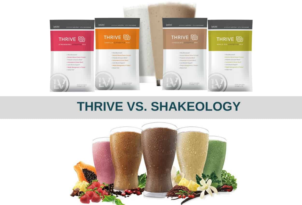 Thrive Shakes vs Shakeology: Which Is The Best for You?