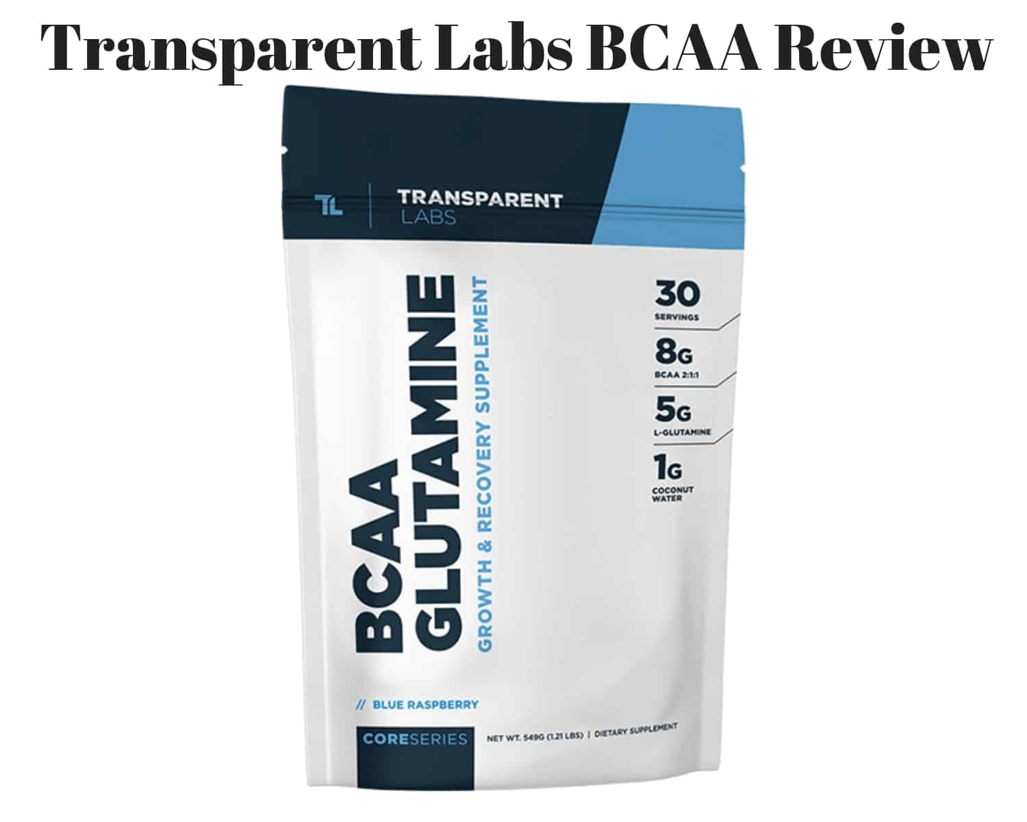 transparent labs coreseries bcaa glutamine price