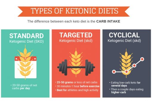 types of keto diets