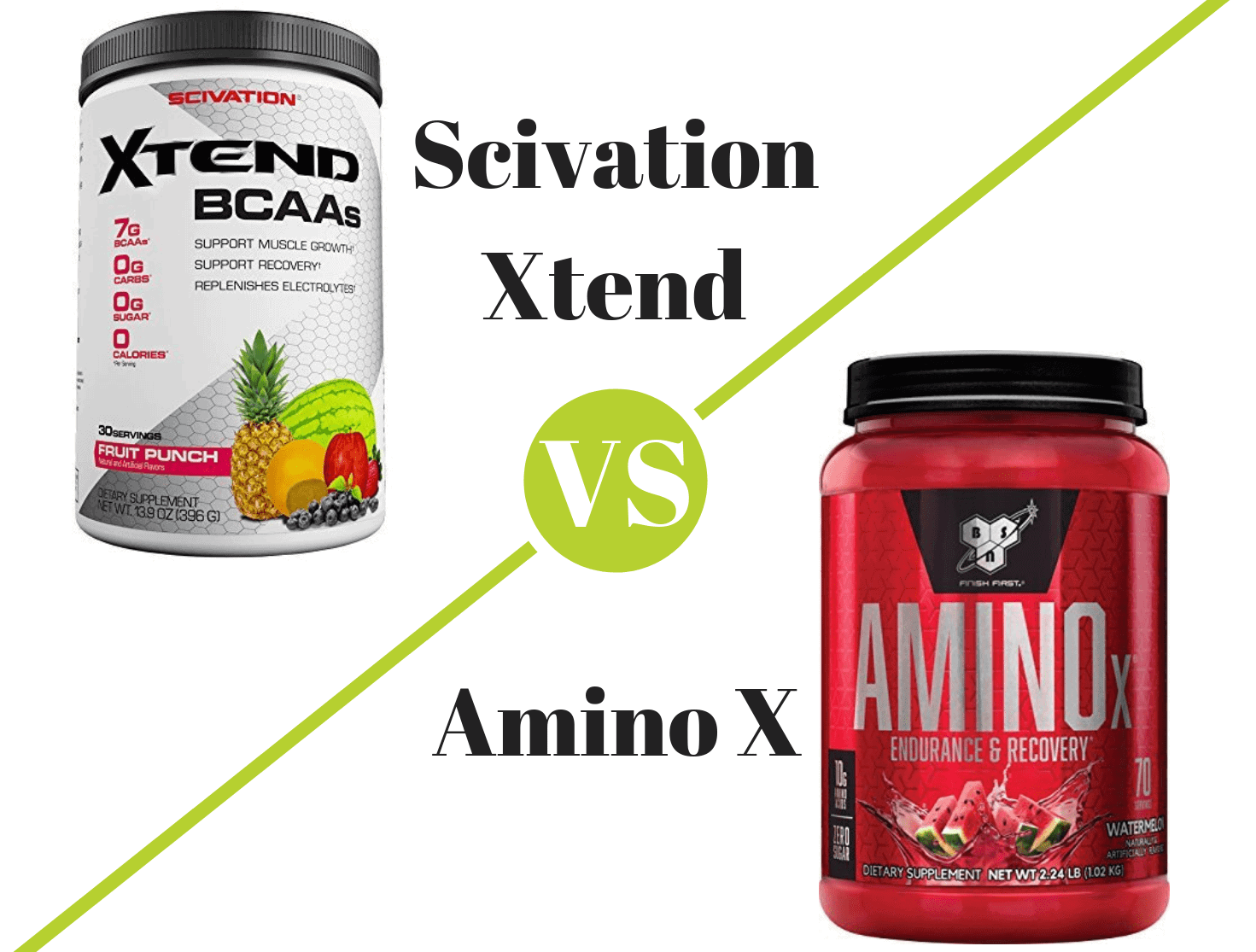 Scivation Xtend vs Amino X