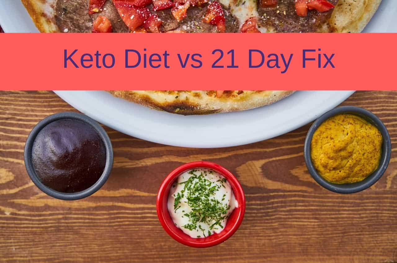 keto diet with 21 day fix containers