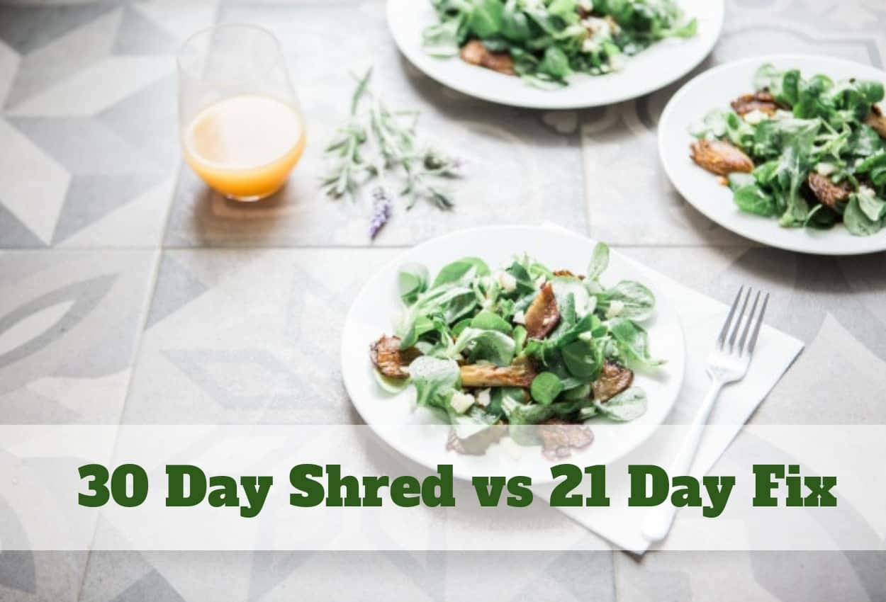 30 Day Shred vs 21 Day Fix: Will You Achieve the Wanted Results?