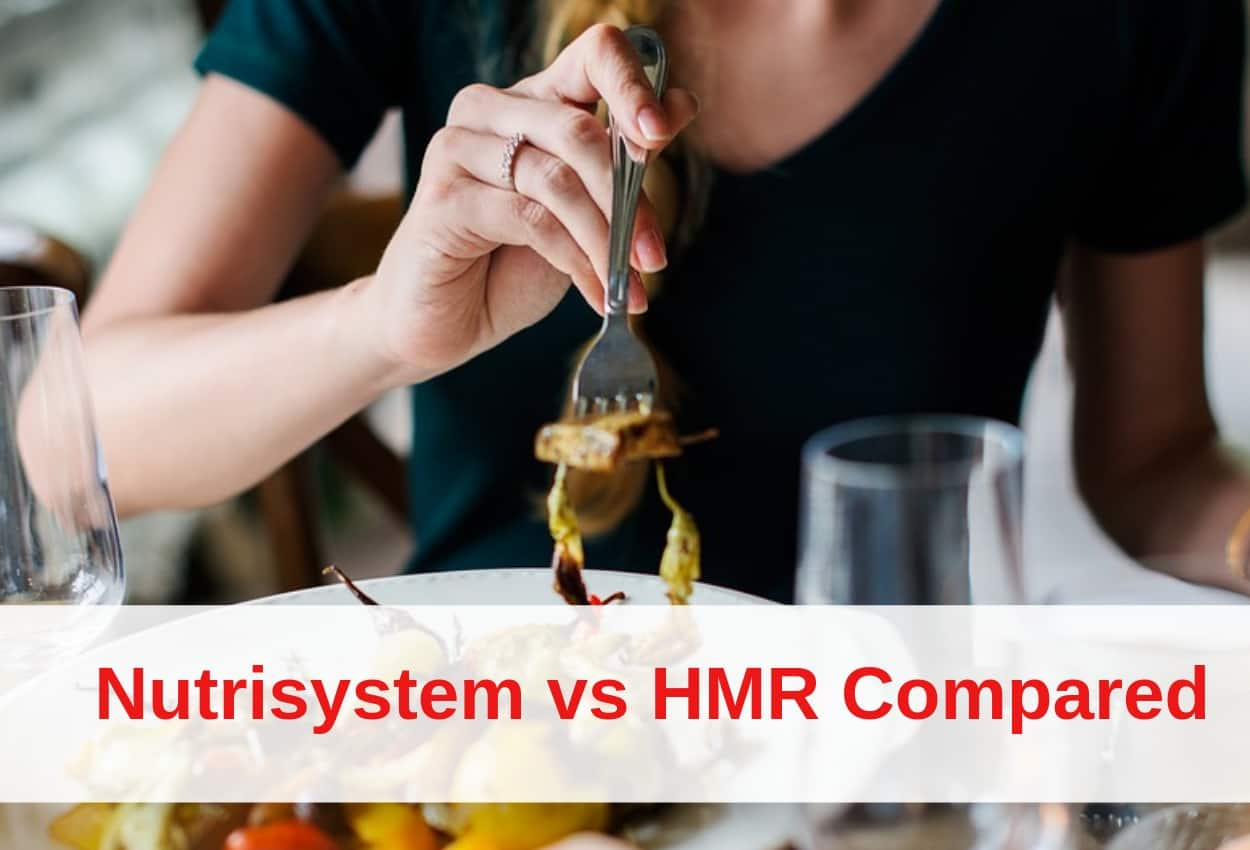 Nutrisystem vs HMR: What Are The Main Differences?
