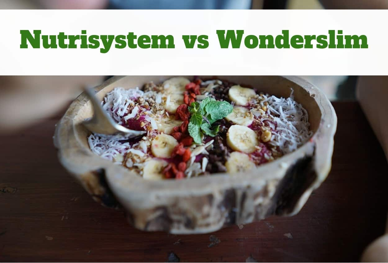 Nutrisystem vs Wonderslim [July 2019] - Which One is Right for You?