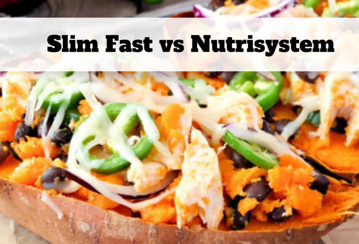 Slim Fast vs Nutrisystem