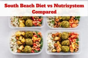 South Beach Diet vs Nutrisystem