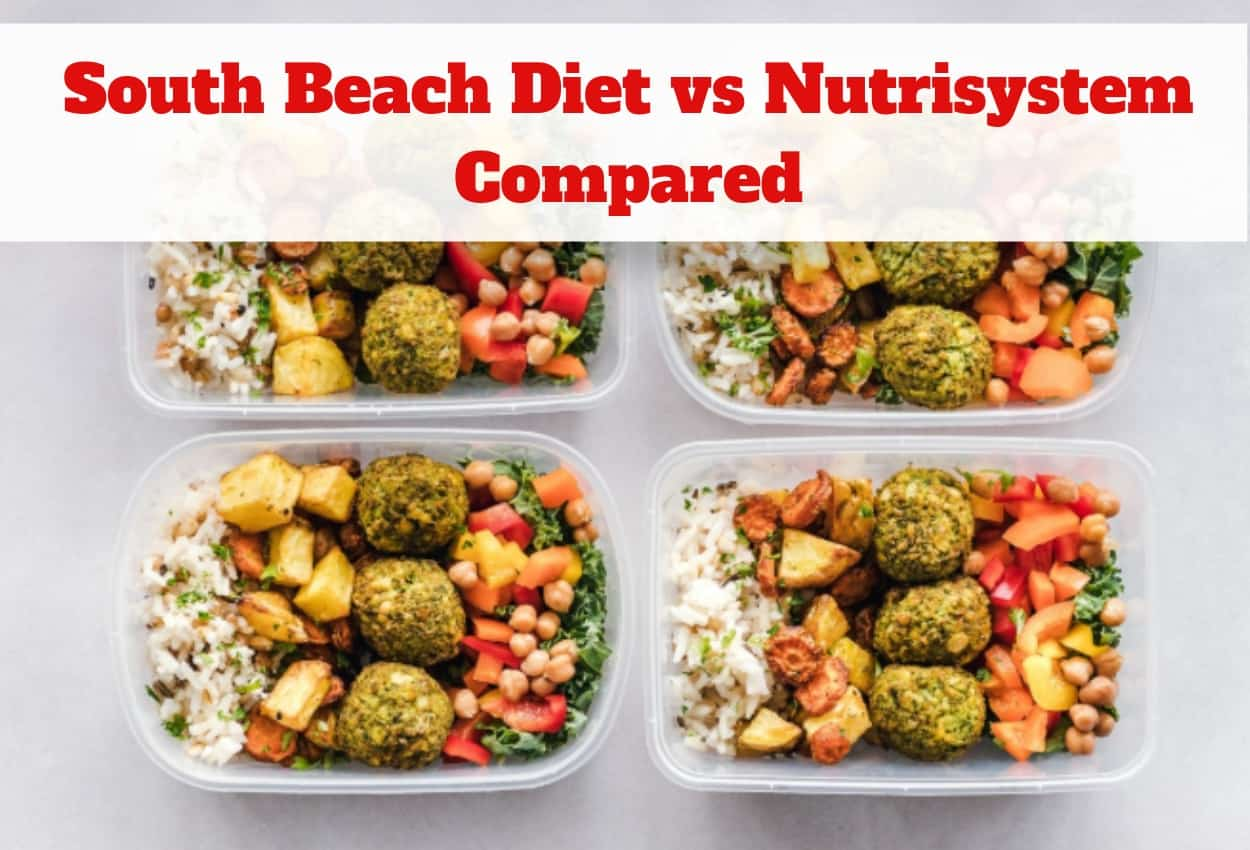 South Beach Diet vs Nutrisystem - Which Should You Try?