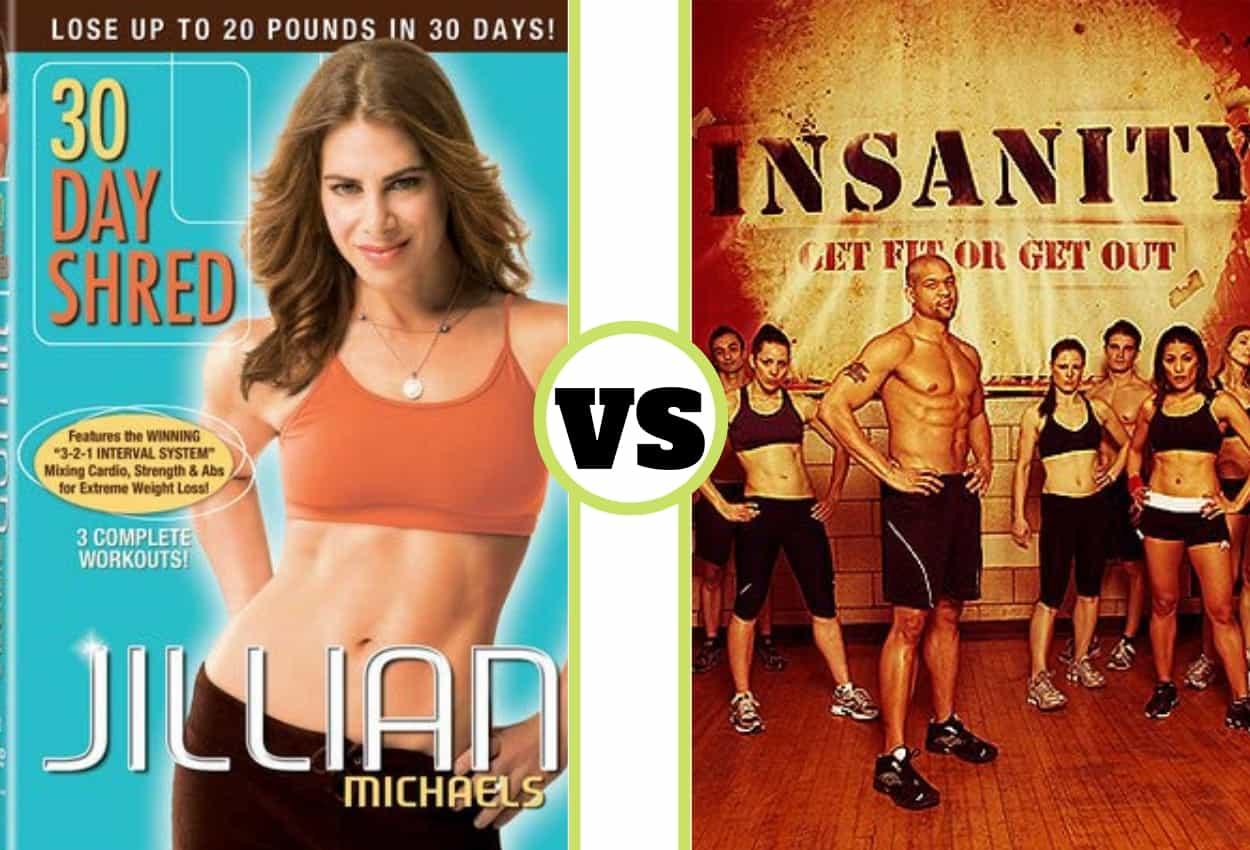 30 Day Shred vs Insanity Compared: Which Workout Is The Best For You