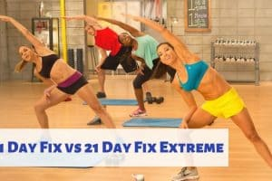 21 Day Fix vs 21 Day Fix Extreme