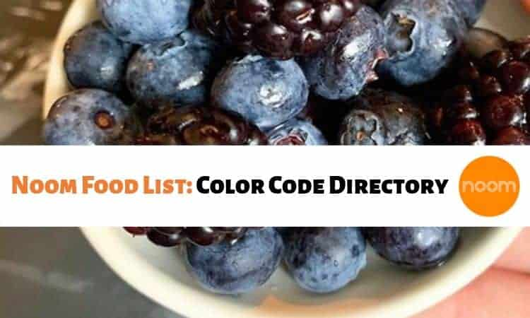 Noom Food List: The Complete Color Code Directory!
